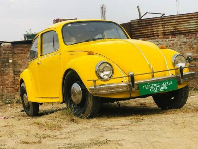 How a classic Beetle was transformed into an eco-friendly car
